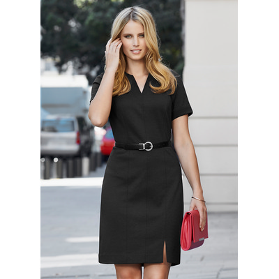 Picture of Ladies Open Neck Dress