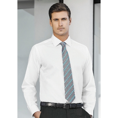 Picture of Mens Single Contrast Stripe Tie