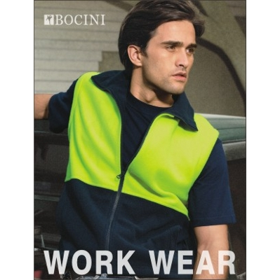 Picture of Unisex Adults Hi-Vis Polar Fleece Vest