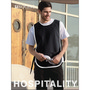 Polyester Drill Popover Apron -With Pock