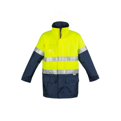 Picture of Mens Hi Vis Waterproof Lightweight JacketHi-Vis