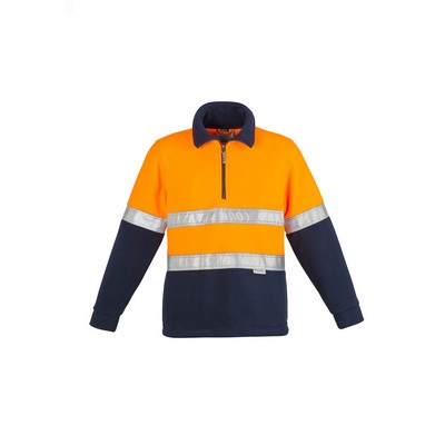 Picture of Mens Hi Vis Fleece Jumper - Hoop Taped