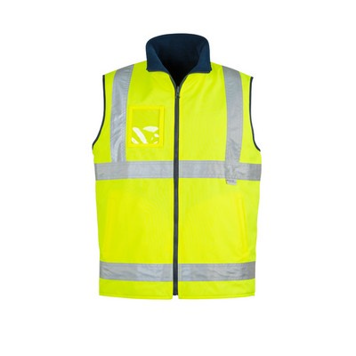 Picture of Mens Hi Vis Lightweight Fleece Lined VestHi-Vis