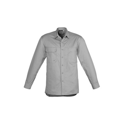 Picture of Mens Lightweight Tradie Shirt - Long Sle