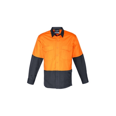 Picture of Mens Rugged Cooling Hi Vis Spliced Shirt