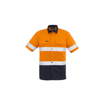 Picture of Mens Rugged Cooling Taped Hi Vis Spliced