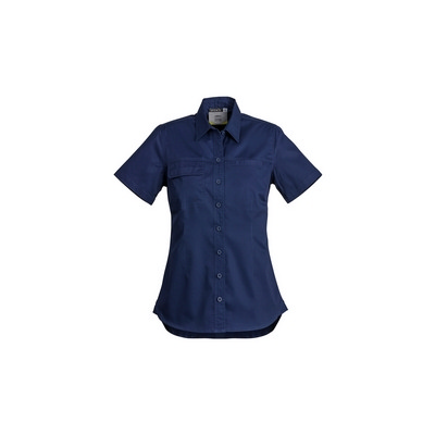 Picture of Womens Lightweight Tradie Shirt - Short