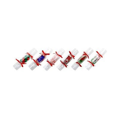 Picture of Clear Christmas Crackers with 6 X Chocol
