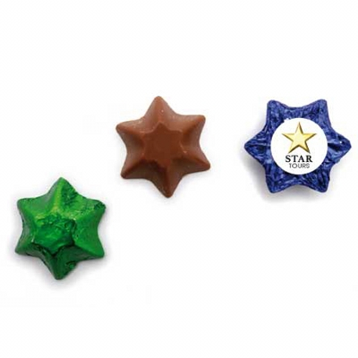 Picture of Chocolate Stars w Sticker