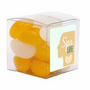 Small Clear Cube with Jelly Beans (Corpo
