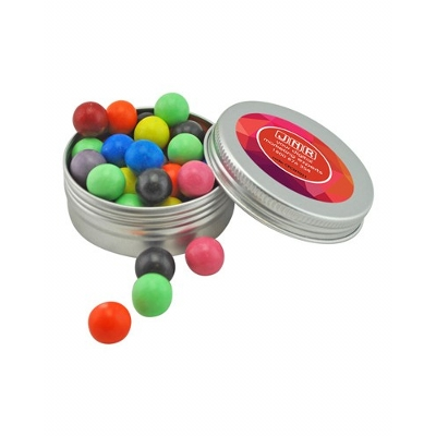 Picture of Medium Twist Tin with Mixed Chocolate Ba