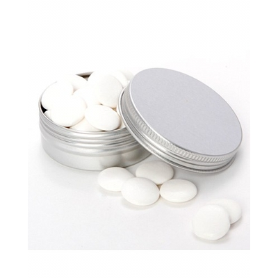Picture of Medium Twist Tin with Flat Mints