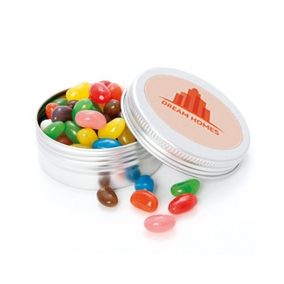 Picture of Medium Twist Tin with Mixed Jelly Beans