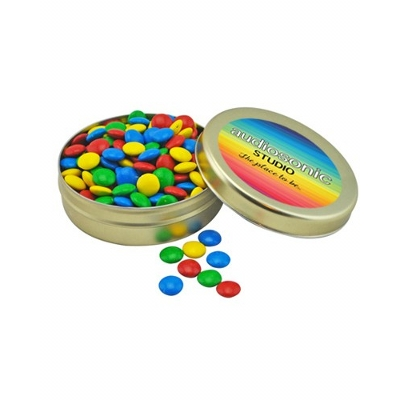 Picture of Large Round Twist Tin with Mixed Chocola