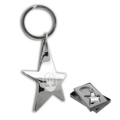 Picture of The Silver Stella Keychain