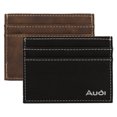 Picture of AGRADE Sueded Leatherette Card Wallet