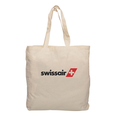 Picture of Calico Shopping Bag with Gusset
