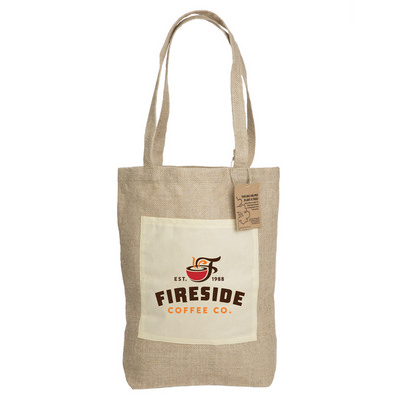 Picture of Reforest Jute Shopping Bag with Gusset