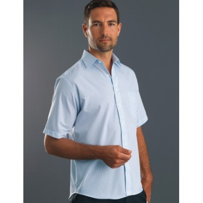 Picture of Three Way Stripe Mens Business Shirt