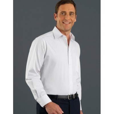 Picture of Self-Pattern Check Mens Business Shirt