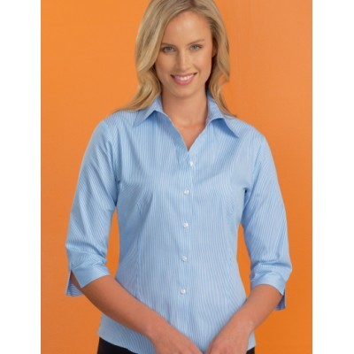 Picture of Bengal Stripe Womens Stretch Business Sh