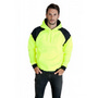 Mens Contrast Hi Vis Fleece