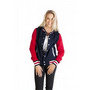 Ladies/Juniors Varsity Jacket With Hood