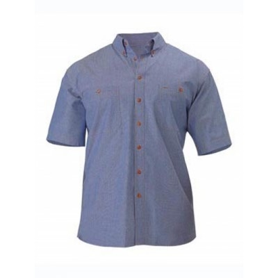 Picture of Chambray Shirt - Short Sleeve