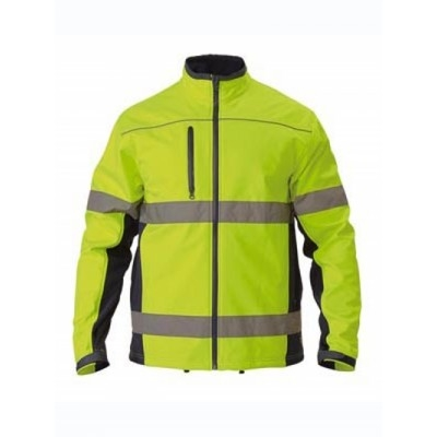 Picture of Taped Hi Vis Soft Shell Jacket