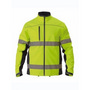 Taped Hi Vis Soft Shell Jacket