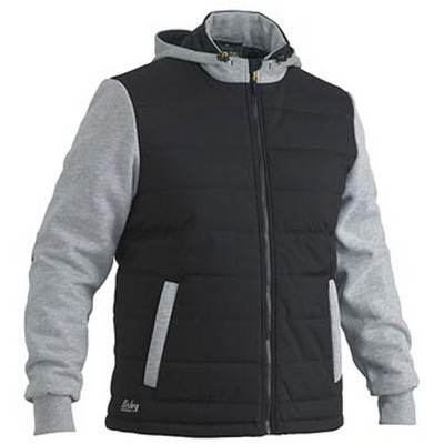 Picture of Flex & Move Contrast Puffer Fleece Hooded