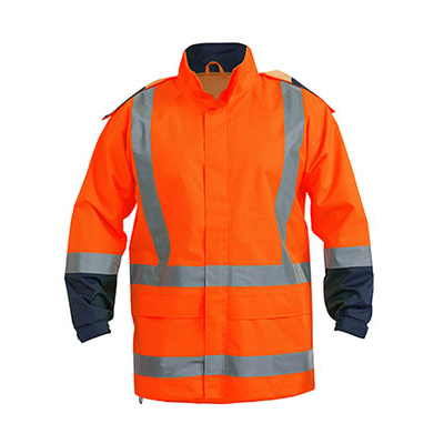 Picture of Taped Hi Vis Rain Shell Jacket