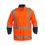 Taped Hi Vis Rain Shell Jacket