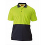 Two Tone Hi Vis Polo Shirt - Short Sleeve