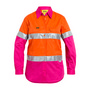Womens 3M Taped Hi Vis Cool Lightweight