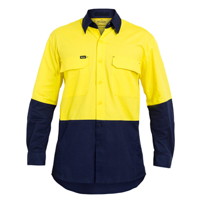 Picture of Two Tone Hi Vis X Airflow Ripstop Shirt
