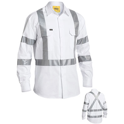 Picture of 3M Taped Night Drill Shirt - Long Sleeve