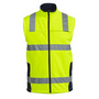 Taped Hi Vis Soft Shell Vest