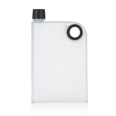 Picture of 400ml Frosted Notebook Drink Bottle