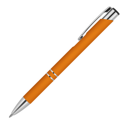 Picture of Julia Rubber Metal Ballpoint Pen