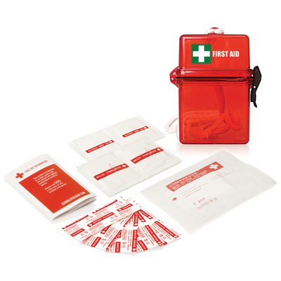 Picture of 15pc Waterproof First Aid Kit