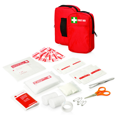 Picture of 30pc First Aid Kit - Belt pouch w/front