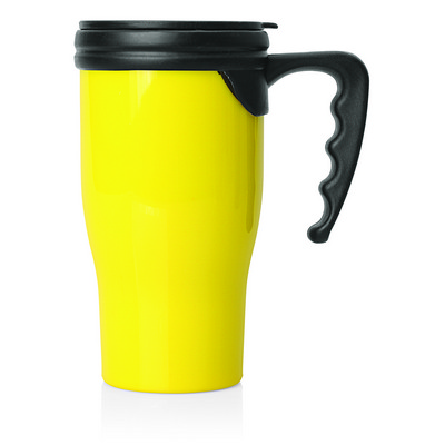 Picture of Double Walled Plastic Thermo Travel Mug