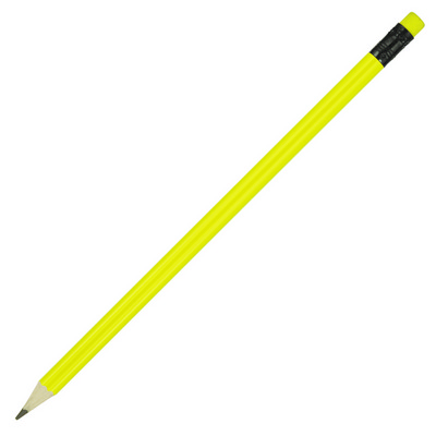 Picture of Sharpened Pencil w/Coloured Eraser