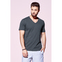 Men's Slub V-Neck