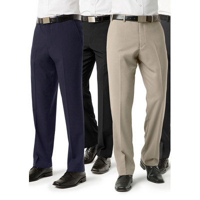 Picture of Mens Classic Flat Front Pant