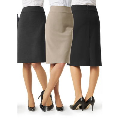 Picture of Ladies Classic Below Knee Skirt