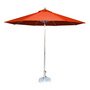 3.5m Tuscany Polished Market Umbrella, A