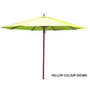 2.7m Tuscany Wood Look Market Umbrella,