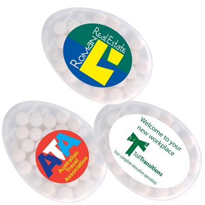 Picture of Egg Shape Sugar Free Breath Mints